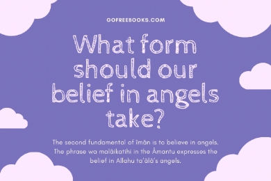 What form should our belief in angels take?